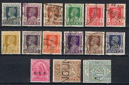 INDE ANGLAISE SERVICE 161-172 - India (...-1947)