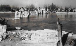 Photo George St-Gilles - 1944 - Bombardement Et Démolition Du Pont De Trinquetaille Sur Le Rhône à ARLES - TBE - War, Military