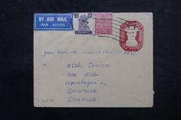 INDE - Entier Postal + Compléments De Jopepura Surat Pour Le Danemark - L 63962 - Briefe