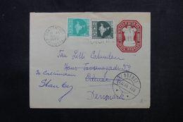 INDE - Entier Postal + Compléments De Calcutta  Pour Le Danemark En 1959 - L 63964 - Briefe