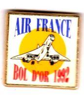 Pin's Concorde Bol D'or 1992 Air FRance - Avions