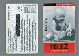 CARTE TELEFONICHE TELE2 - Telefonkarten