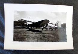 CPA Photo DC3 Air France à Nossi-Bé Madagascar 1952 - 1946-....: Ere Moderne