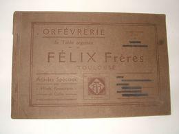 Orfévrerie De Table Argentée Félix Fréres à Toulouse - France