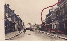 (02) - Ribemont Strasse  Carte Photo Allemande 1° Guerre - Sonstige Gemeinden