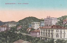 BORDIGHERA (IMPERIA) - CARTOLINA - VILLE E ALBERGHI - Imperia