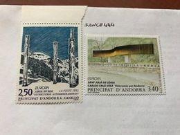 Andorra France Europa 1993 Mnh - Europa-CEPT