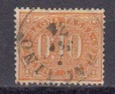 Italie 1869 Timbre Taxe. Yvert 2 Oblitere. - Used