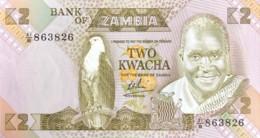 Zambia 2 Kwacha, P-24b (1980) - UNC - Signature 6 - Zambie