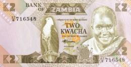 Zambia 2 Kwacha, P-24c (1980) - UNC - Signature 7 - Zambie