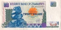Zimbabwe 20 Dollars, P-7 (1997) - Extremely Fine - Simbabwe