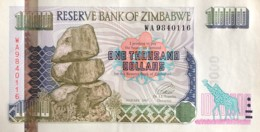 Zimbabwe 1.000 Dollars, P-12 (2003) - UNC - Simbabwe