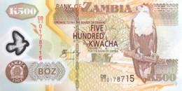 Zambia 500 Kwacha, P-43b (2003) - UNC - Zambie