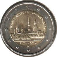 LE20014.1 - LETTONIE - 2 Euros Commémo. Riga - 2014 - Lettonie