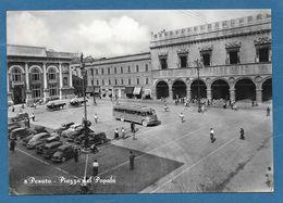 PESARO PIAZZA DEL POPOLO VG. 1954 N°421 - Pesaro