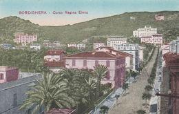 BORDIGHERA (IMPERIA) - CARTOLINA - CORSO REGINA ELENA - Imperia