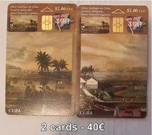 CUBA - TELEBARNA 2005 - 2 CARDS - Cuba