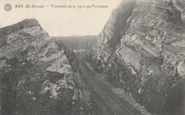 Saint Servais ,( Namur ),  Tranchée De La Ligne De Tirlemont ( Train , Chemin De Fer , Rail , Gare ) Hermans N° 888 - Namur