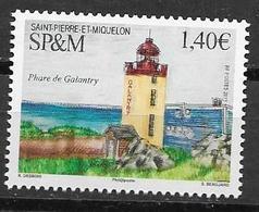 ST. PIERRE ET MIQUELON, SPM, 2019, MNH, LIGHTHOUSES,  1v - Leuchttürme