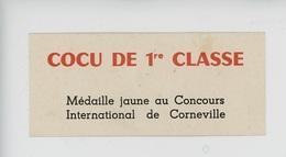 CORNEVILLE  Cocu De 1ère Classe, Médaille Jaune Au Concours International De Corneville 12X5,5 - Humour