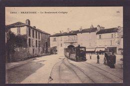 CPA Dordogne 24 Brantome Train Tramway Chemin De Fer Non Circulé - Brantome