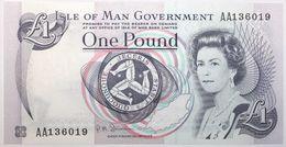 Ile De Man - 1 Pound - 2009 - PICK 40c - NEUF - [ 4] Isle Of Man / Channel Island