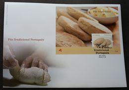 Portugal Traditional Pao 2009 Food Cuisine Gastronomy (miniature FDC) - 1910-... République