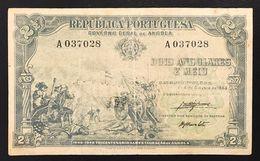 Angola Portogallo 2,5 2 1/2 Angolares 1948 PICK#71 Lotto 072 - Angola