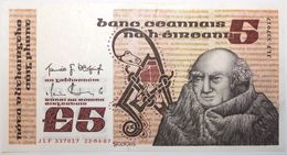 Irlande - 5 Pounds - 1987 - PICK 71d.4 - SUP+ - Ireland
