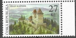 CZECHIA,  CZECH REPUBLIC, 2020, MNH, ARCHITECTURE, CASTLES, KASPERK CASTLE, MOUNTAINS, 1v - Castles