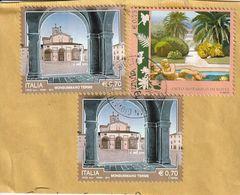 Storia Postale - Frammento Di Lettera  Viaggiata - - 6. 1946-.. Republik