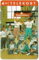 Denmark - KTAS - Lilleroed Badminton Club - TDKP072 - 03.1994, 5kr, 2.500ex, Used - Denmark