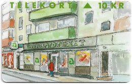 Denmark - KTAS - Linde Pharmacy - TDKP121 - 12.1994, 10kr, 1.500ex, Used - Denmark