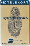 Denmark - KTAS - Press Self-Service - TDKP170 (Cn. 1450) - 09.1995, 10kr, 3.300ex, Used - Denmark