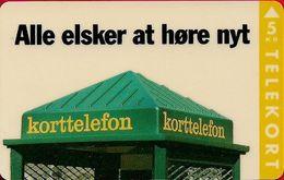 Denmark - KTAS - (Magnetic) Visitkort Business - Svend Aage Kofod - TDKV001N - 01.1993, 5kr, 60ex, Very Rare! - Denmark