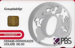 Denmark - Danmønt - G004 - Genopladeligt PBS Testkort - Exp. 06.2000, Used - Denmark