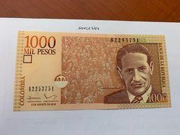 Colombia 1000 Pesos Uncirc. Banknote 2016 - Colombia