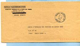 1991 PARIS ARMÉES 01 00481 - Postmark Collection (Covers)