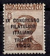 Italie YT N° 120 Neuf ** MNH. TB. A Saisir! - 1900-44 Vittorio Emanuele III