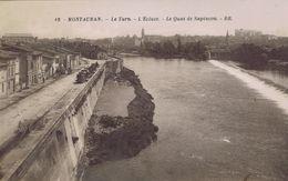 82 - Montauban (Tarn-et-Garonne) - Le Tarn - L'Ecluse - Le Quai De Sapiacon - Montauban