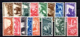 Italie YT N° 305/320 Neufs ** MNH. TB. A Saisir! - 1900-44 Vittorio Emanuele III