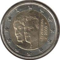 LU20009.2 - LUXEMBOURG - 2 Euros Commémo. Grand-Duc Henri Et Grande-Duchesse Charlotte - 2009 - Luxembourg