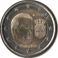 LU20010.1 - LUXEMBOURG - 2 Euros Commémo. Grand-Duc Henri Et Ses Armoiries - 2010 - Luxembourg