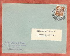 Vorderseite, Hindenburg, SoSt Hildburghausen Nach Offenburg 1937 (95171) - Covers & Documents