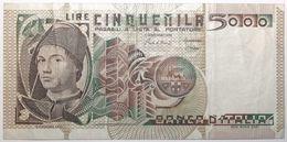 Italie - 5000 Lire - 1982 - PICK 105b.2 - TTB+ - 5000 Lire