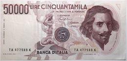 Italie - 50000 Lire - 1984 - PICK 113a - SUP - [ 2] 1946-… : Repubblica
