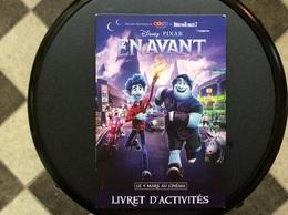 LIVRET D'ACTIVITES  Disney.Pixar EN AVANT - Publicidad