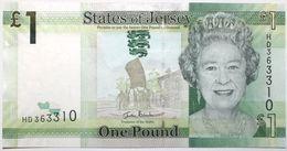 Jersey - 1 Pound - 2010 - PICK 32a - NEUF - Jersey