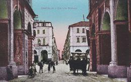 ONEGLIA  (IMPERIA) - CARTOLINA - DA VIA STATUTO - Imperia