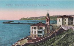 ONEGLIA  (IMPERIA) - CARTOLINA - SALITA MARINA E PANORAMA DI PORTO MAURIZIO - Imperia